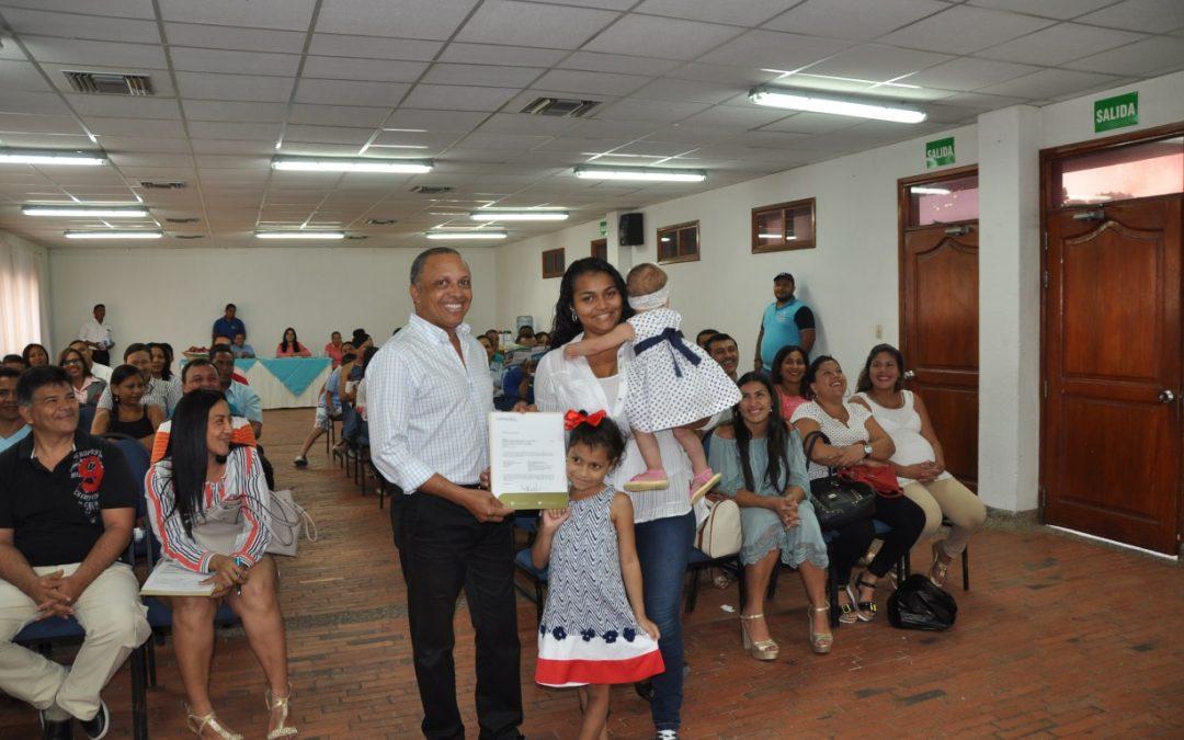 Comfaguajira, Benefició a 66 Familias Guajiras con el Subsidio Vivienda FOVIS