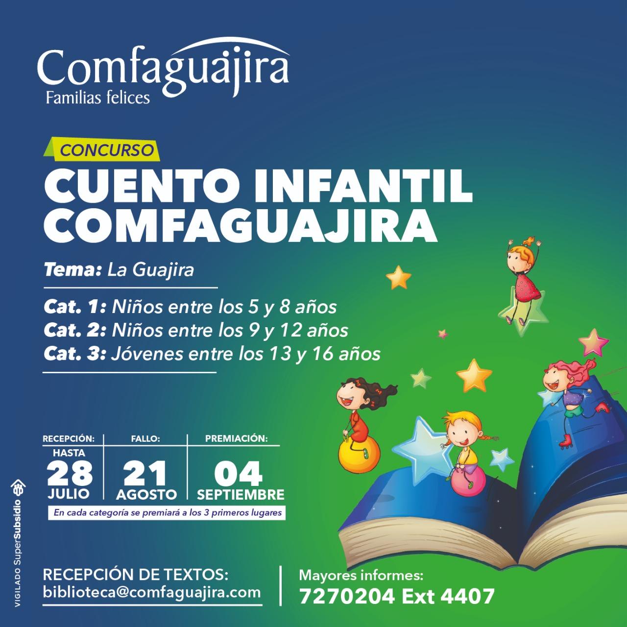 Cuento infantil Comfaguajira